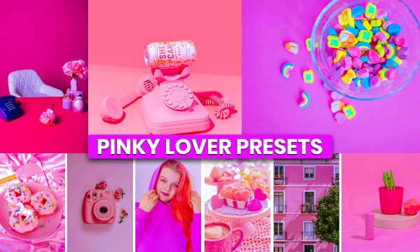 Pink Color Photoshop Presets