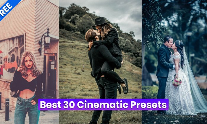 New Best Cinematic Presets Free Download