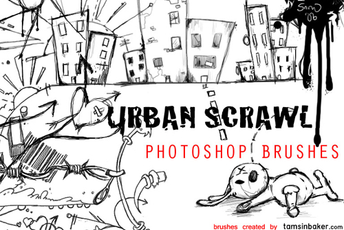 500+ Sketch Photoshop Brushes for Hand-Drawn Effects