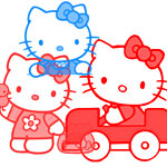 Hello Kitty cepillos