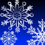 Los copos de nieve cepillos
