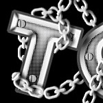 Chained text