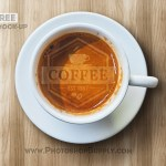 Coffee Latte Photoshop Mockup Free