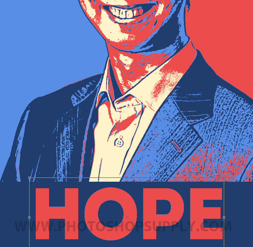 Obama Hope Poster Photoshop Tutorial And Free Action