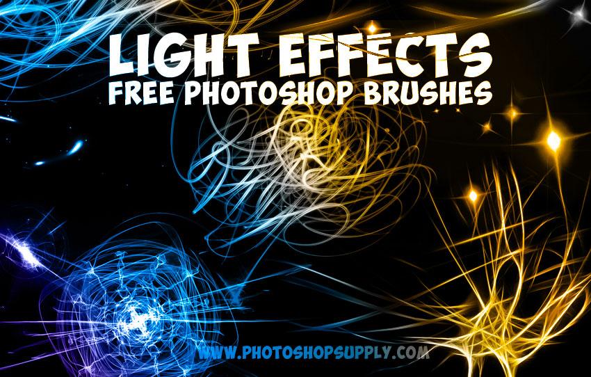 Photoshop light effects brushes