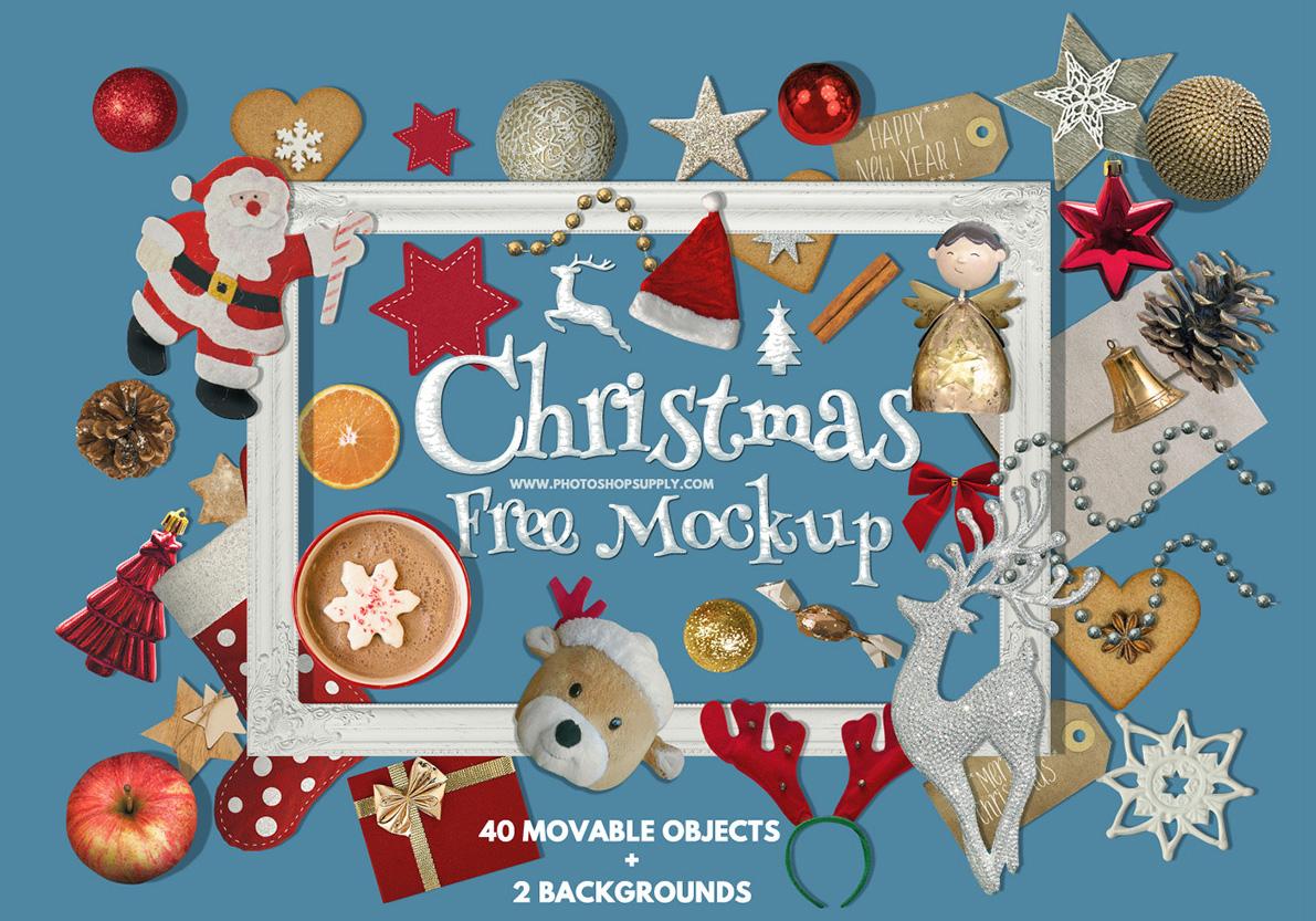 Christmas Mockup Free