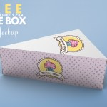 Cake Box Mockup