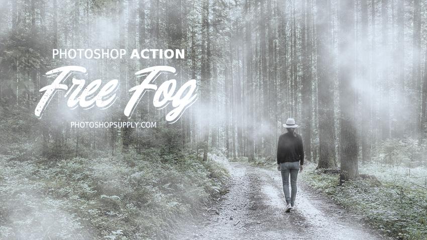 Fog Effect Photoshop Action (FREE) - Photoshop Supply