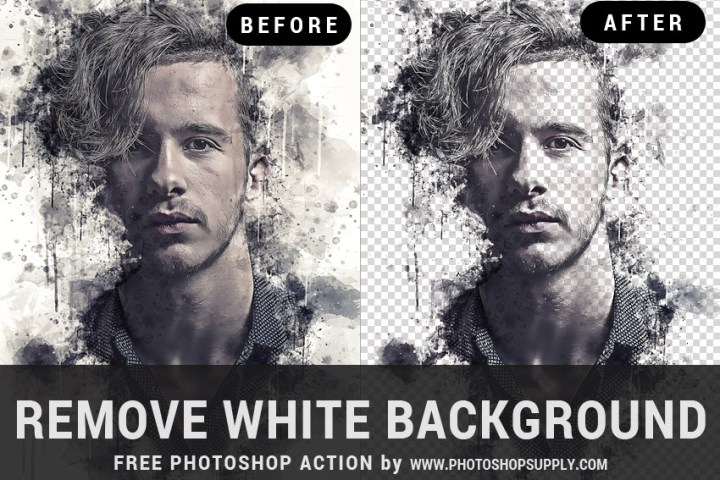 Remove White Background Photoshop