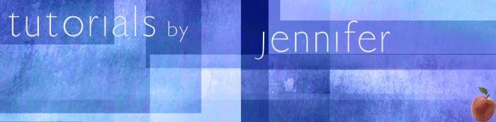 free Photoshop tutorials from Jennifer Apple