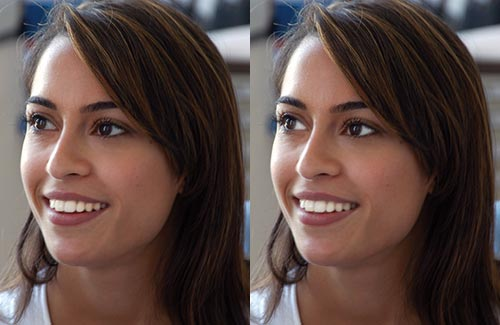 Retouching Portraits - How To Whiten Teeth & Eyes