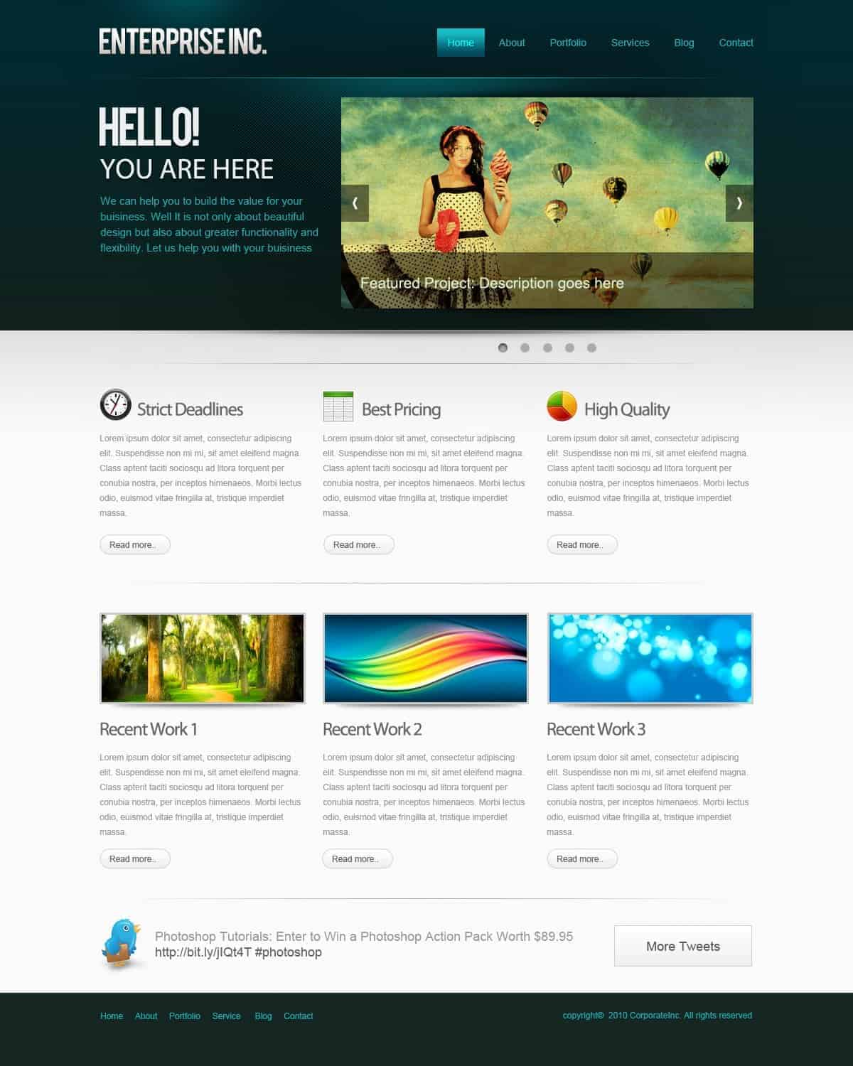 How to Create a Professional Web Layout in Photoshop