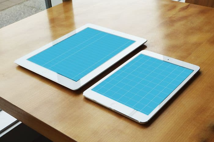 iPad Retina and iPad Mini Before