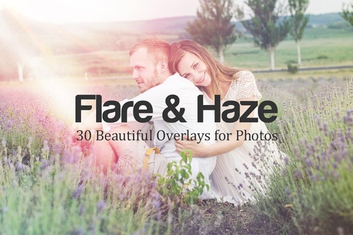 Free Download: 6 Flare & Haze Overlays for Photos