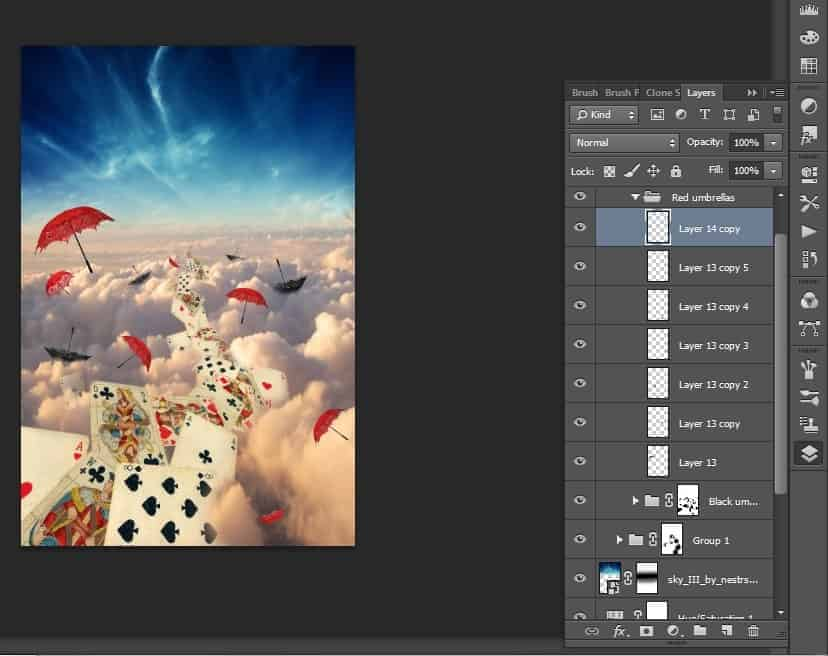 alice in wonderland umbrella create a photo manipulation of alice in wonderland photoshop