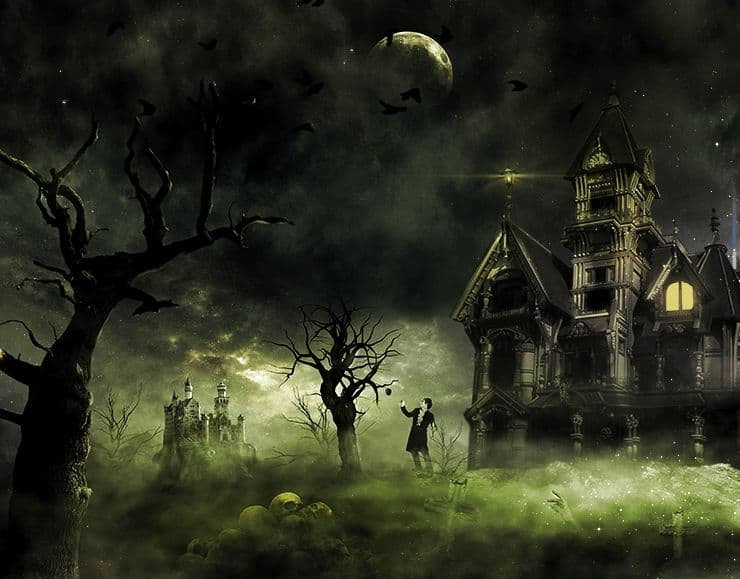 Car Manipulation Wallpapers Smokee Create This Eerie Haunted House Scene For Halloween