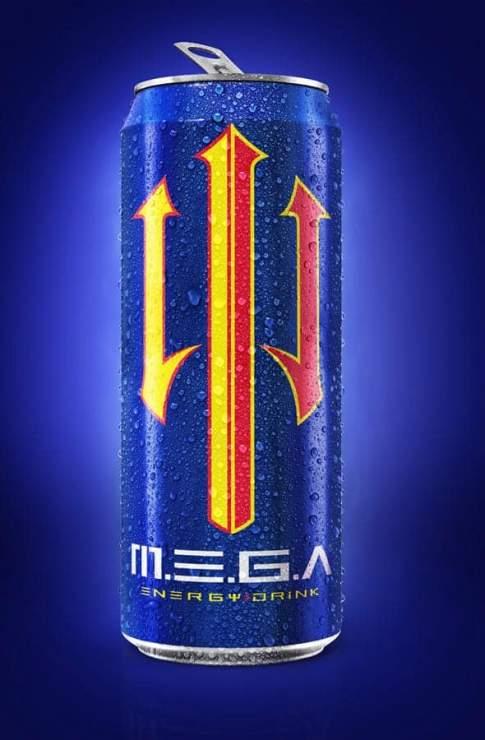 Mega energy drink