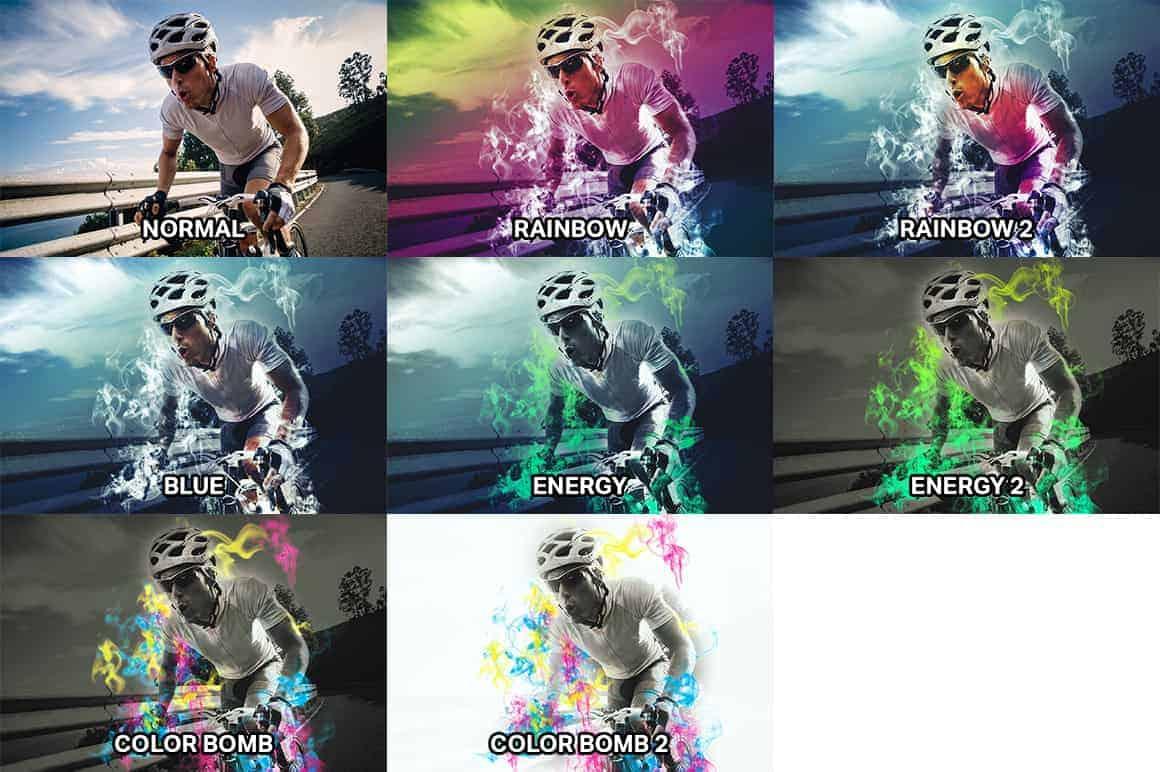 Free Photoshop Actions: Super Smoke Effects - Photoshop Tutorials