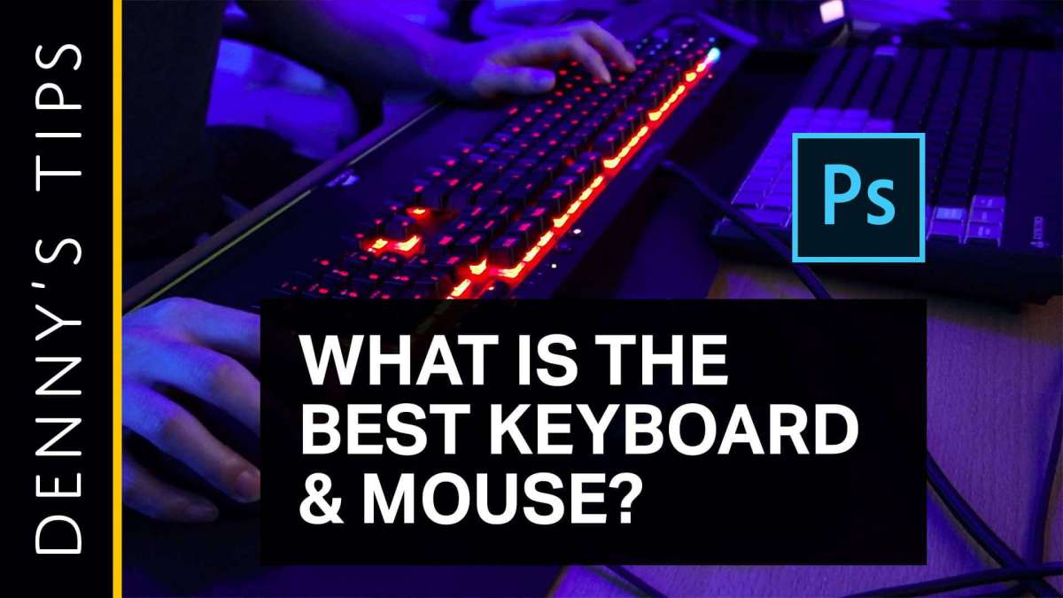 The Best Keyboard and Mouse for Photoshop