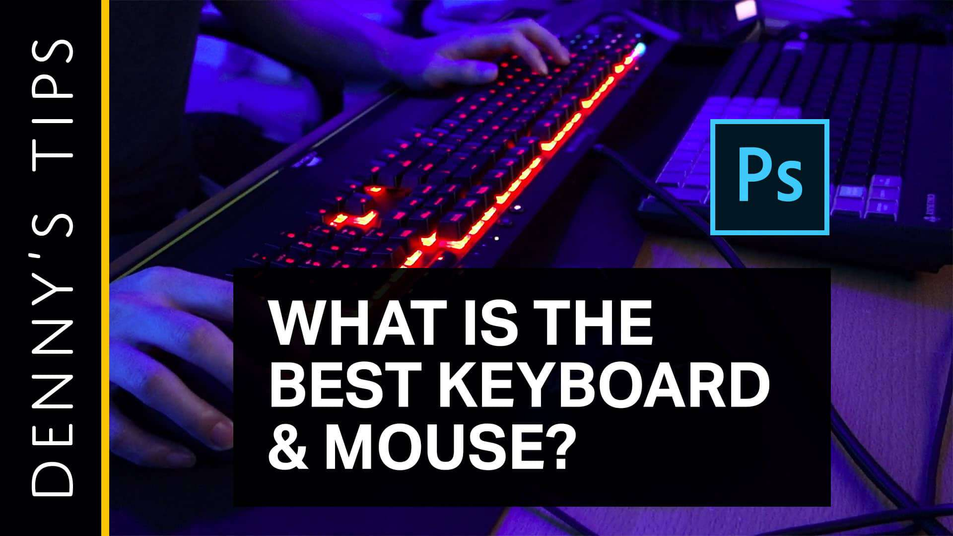 The Best Keyboard and Mouse for Photoshop - Photoshop Tutorials