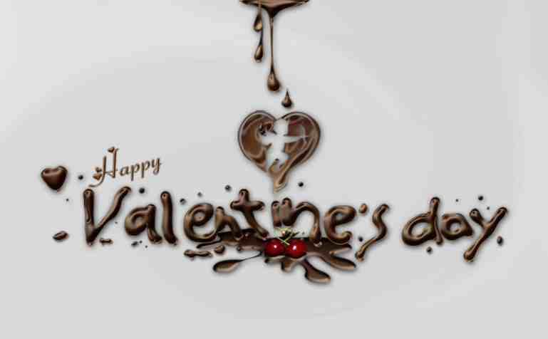 How to create a chocolaty valentine s day card for your How to make a valentine card for your girlfriend