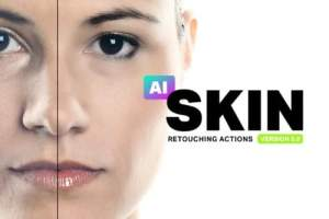 AI Skin 3 Photoshop Actions