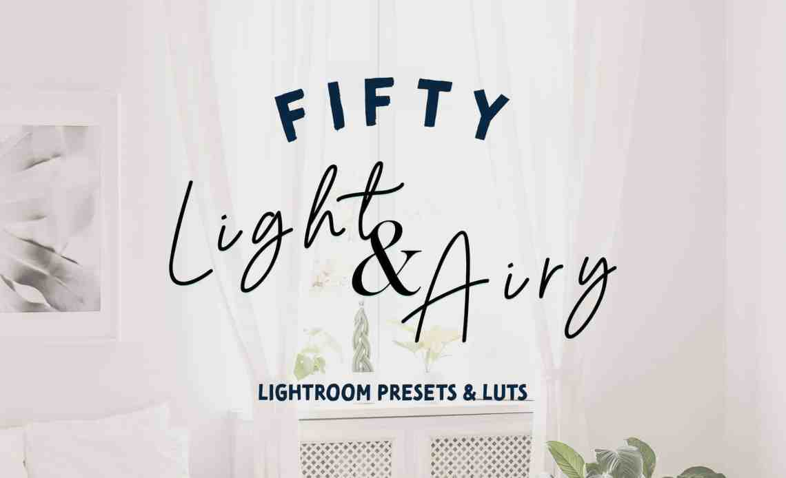 8 Free Light And Airy Lightroom Mobile Presets Photoshop