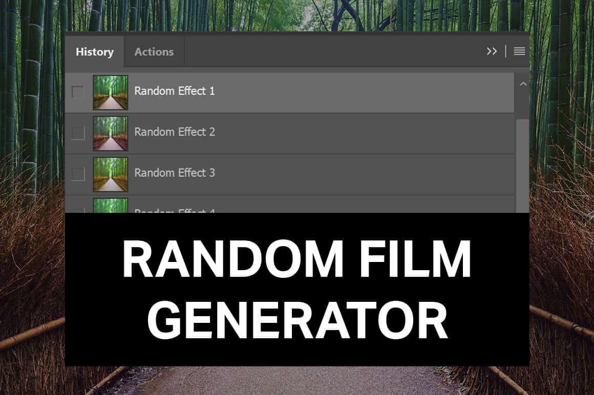 Random Film Generator for Photoshop - Photoshop Tutorials on random name chooser, random name word picker, random sketch, random walk, random comics, random tractor, random numbers, random head,