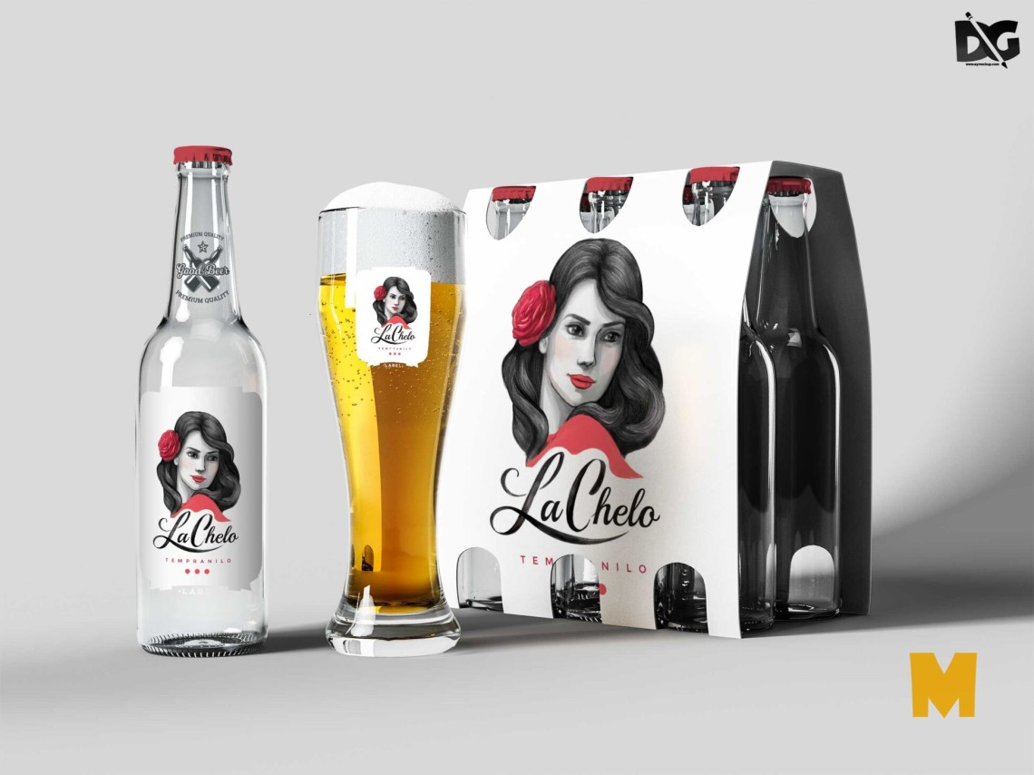 Download Free Sign Pack Beer Packaging Mockup PSD Mockup | Free Mockup