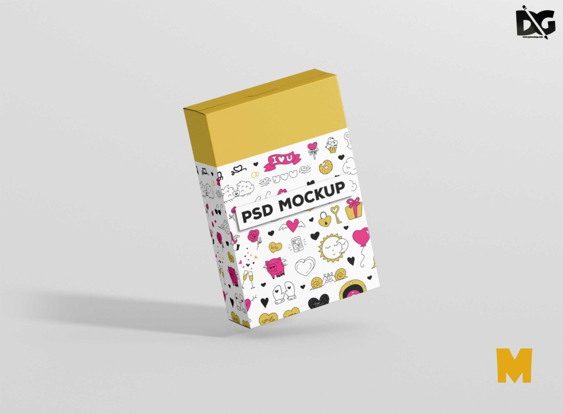 Download Free Mockup Food Packaging Box 2018