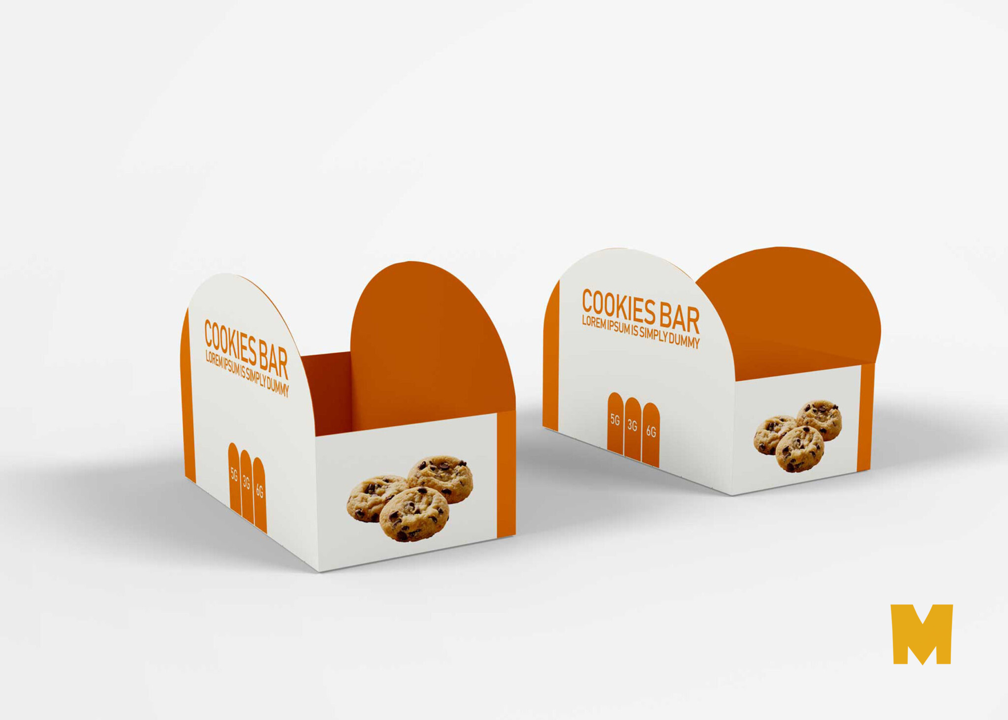 The global community for designers and creative professionals. Free Doughnuts Paper Bag Label Mockup Psd Mockup Free Mockup