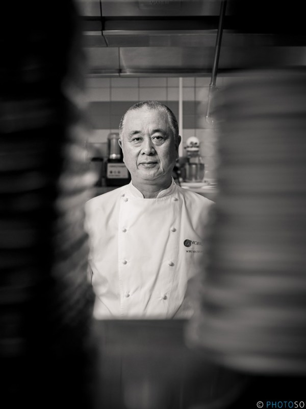 Portrait of Chef Nobu Matsuhisa