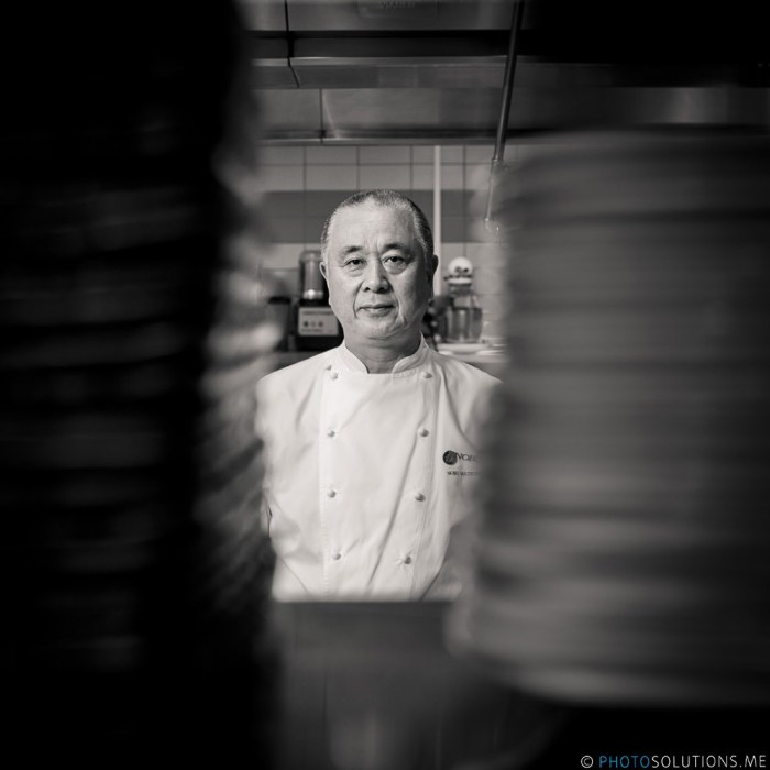Portrait of Chef Nobu Matsuhisa