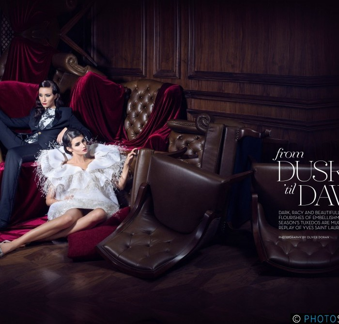 From Dusk 'til Dawn Editorial for La Femme