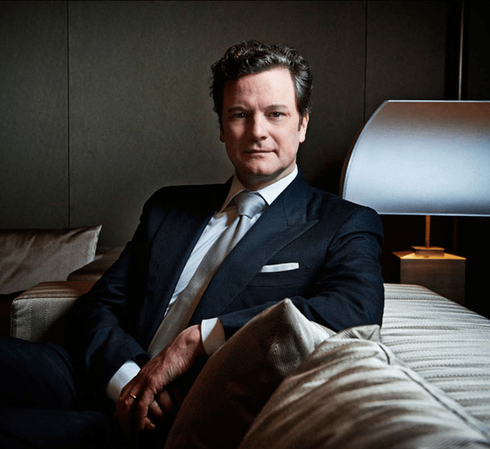 Colin Firth @ Chivas' Legends Dinner