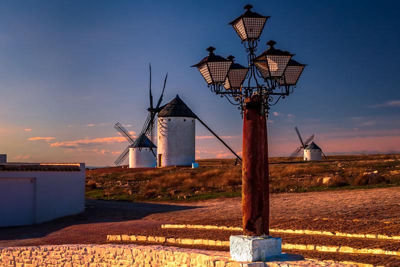Windmills of La Mancha -Campo de Criptana