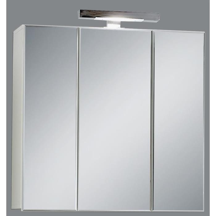 Meuble miroir salle de bain ikea good meuble haut salle for Miroir bricorama