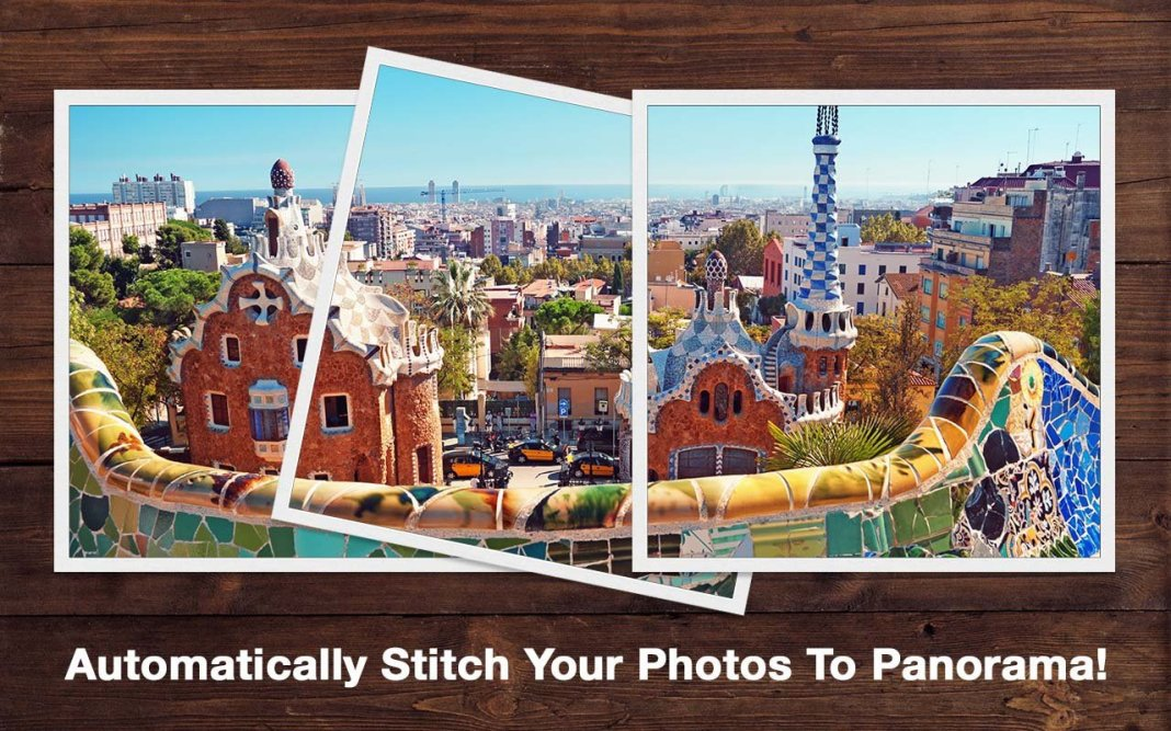 Automatically stitch your photos to panorama