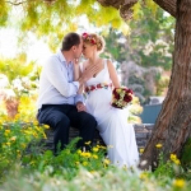 φωτογράφιση πολιτικού γάμου