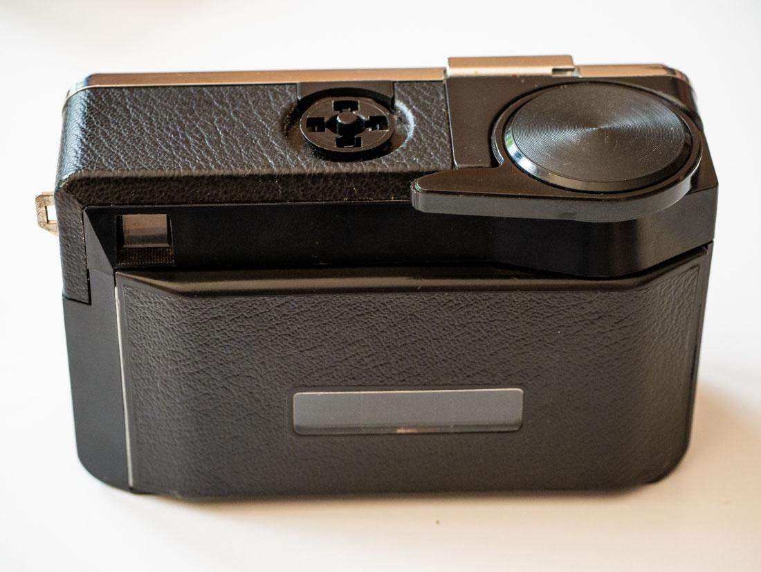 Reloading a 126 film cartridge