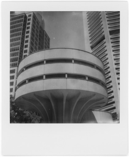 MLC Centre, Polaroid SX-70, Polaroid Originals B&W SX-70