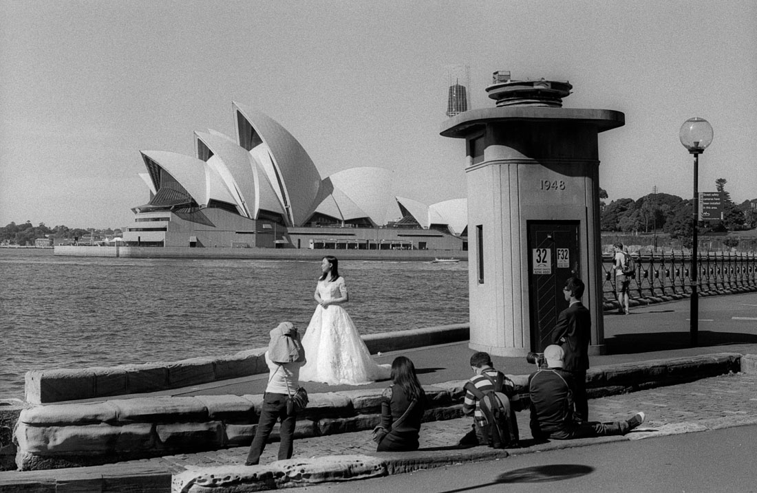 Harbour wedding, Nikon F2, Nikkor-H 50mm f/2 Auto, Kentmere 400
