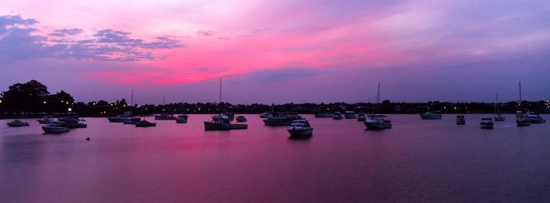 Lilyfield Sunset |Hasselblad XPan, 45mm | Kodak Ektachrome E100
