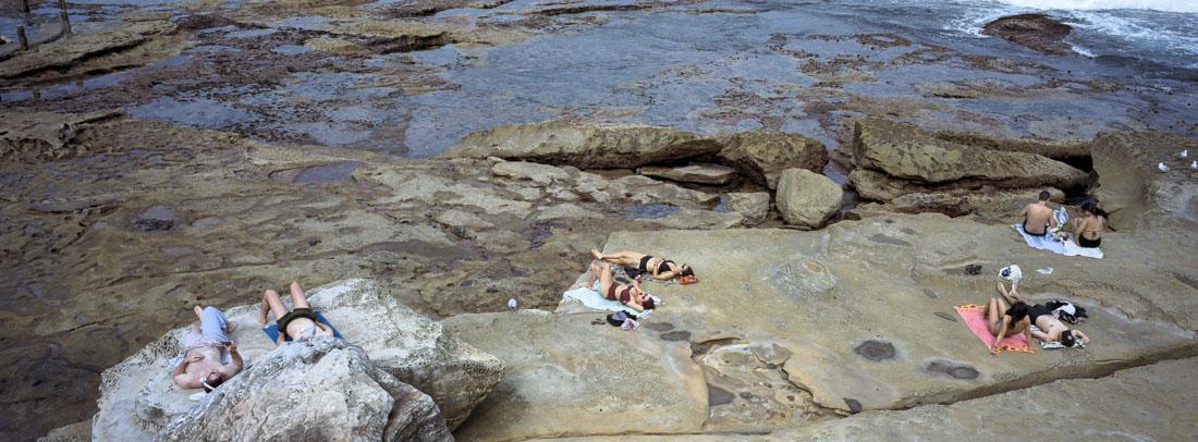 Maroubra Rock Pool   Hasselblad XPan, 45mm   Kodak Portra 400