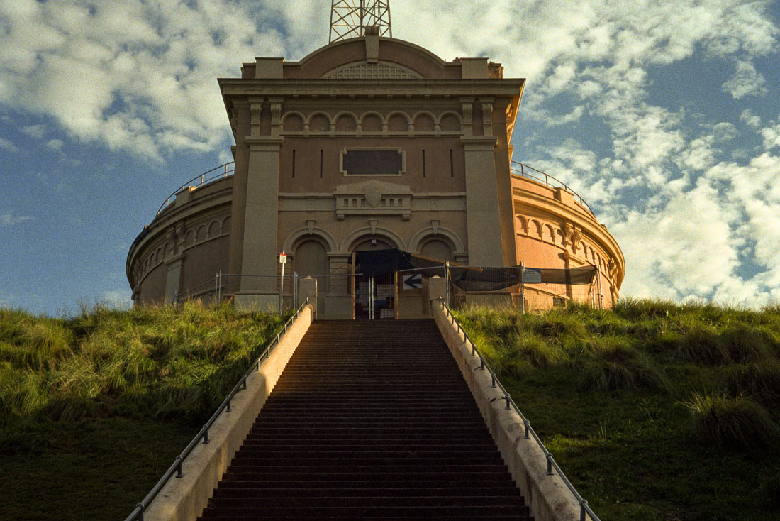 Top of Waverley Park | Prakti | Kodak Ultramax 400