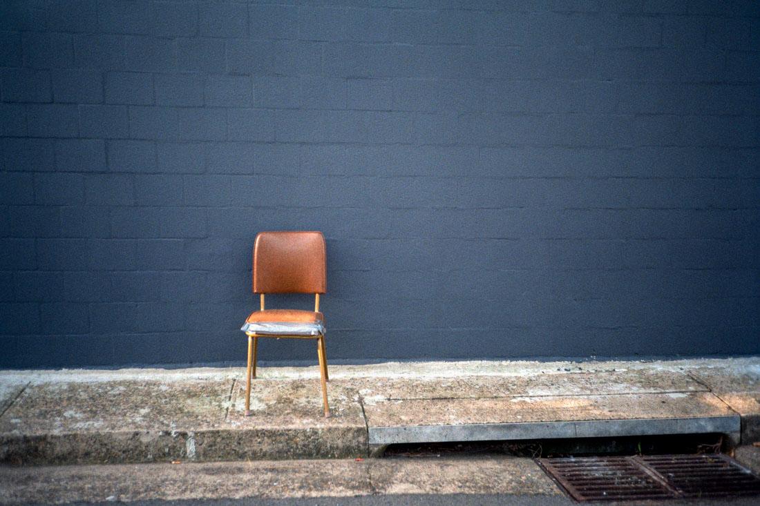 Abandoned chair | Nikon L35AF | Kodak Pro Image 100