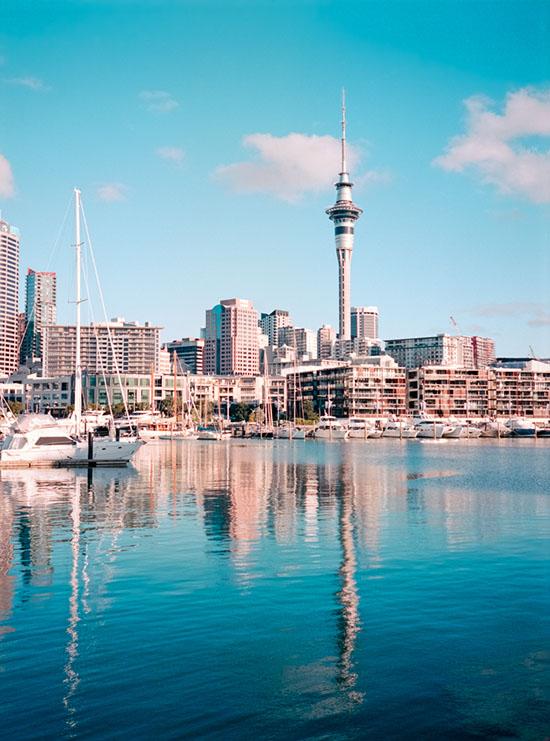 Sky Tower, Auckland | Fuji GS645S | Kodak Portra 400