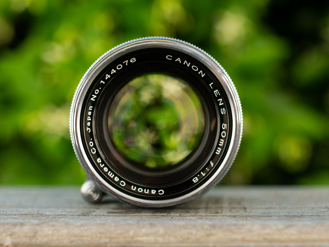 Canon 50mm f/1.8 LTM