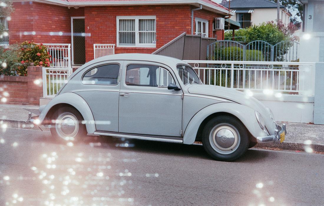 Volkswagen Beetle   Leica IIIf   Canon 50mm f/1.8   Fujifilm Industrial 400