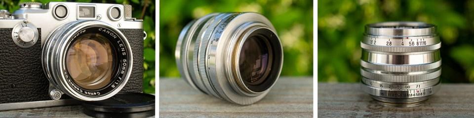 Canon 50mm 1:1.8 LTM